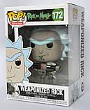 """Колекційна фігурка FUNKO POP! серії """"Rick & Morty"""" - Weaponized Rick, фото 3"""