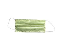 Багаторазова захисна маска для обличчя зелена
