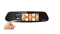 Автомобильный видеорегистратор зеркало Eken A99 2 камеры Full HD, Лучший авторегистратор в машину
