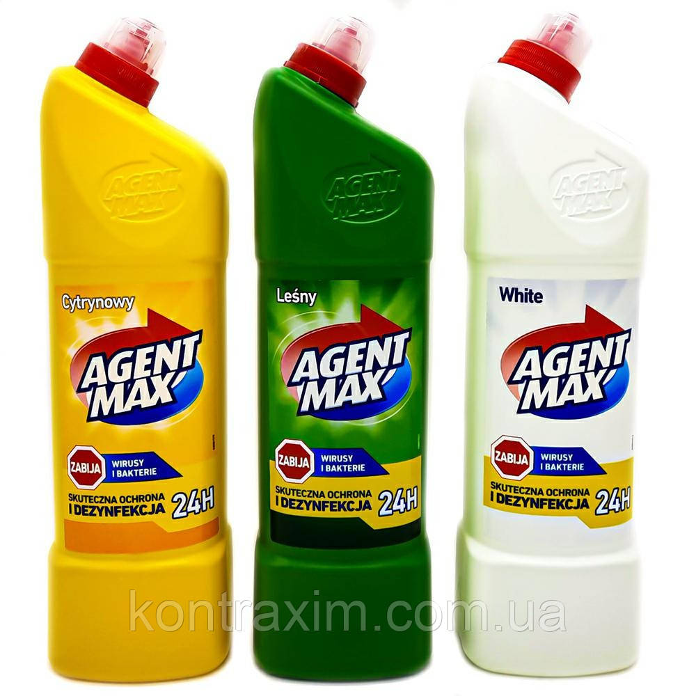 Средство для чистки унитаза AGENT MAX 1,1 мл