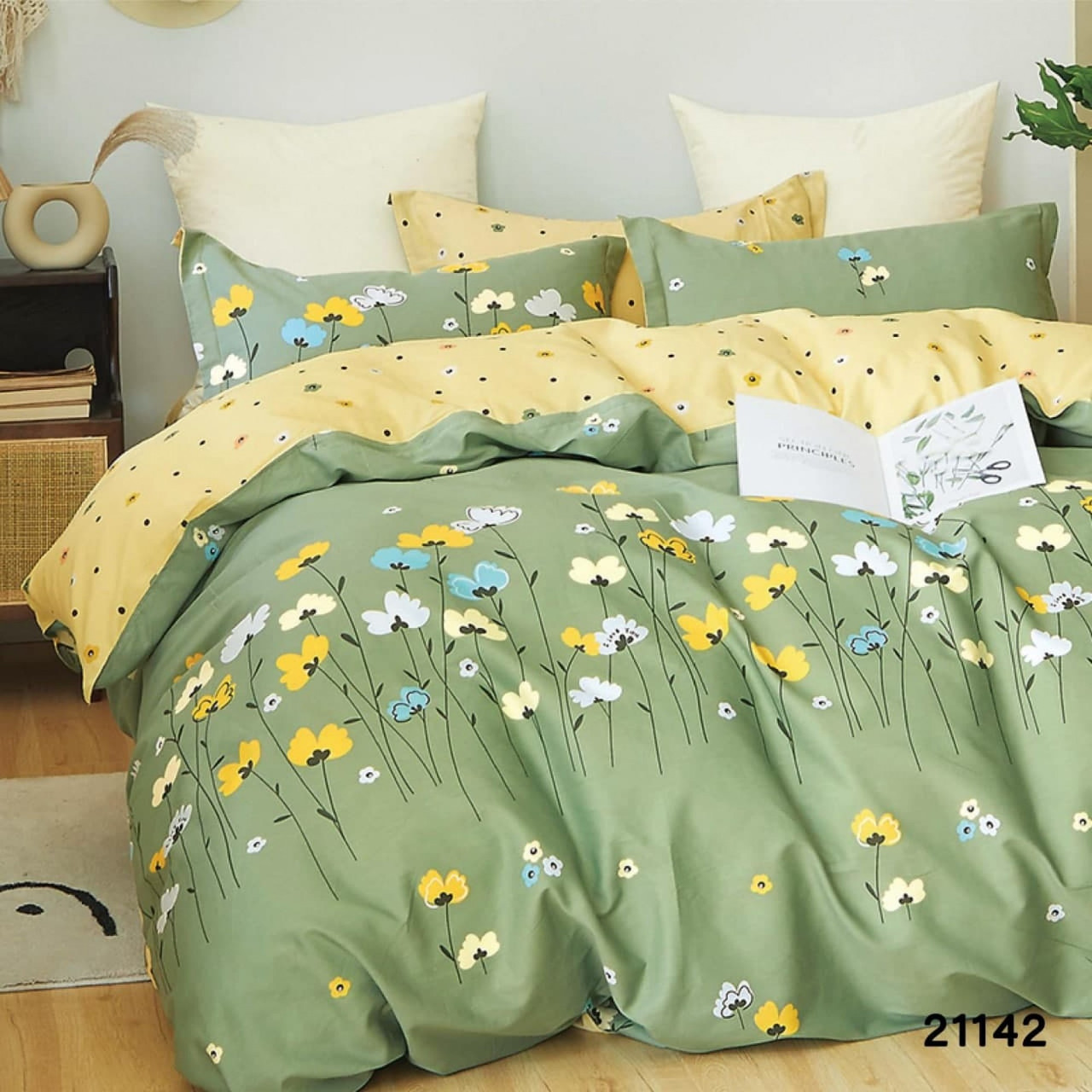 Комплект постельного белья ранфорс 21142 ТМ Вилюта
