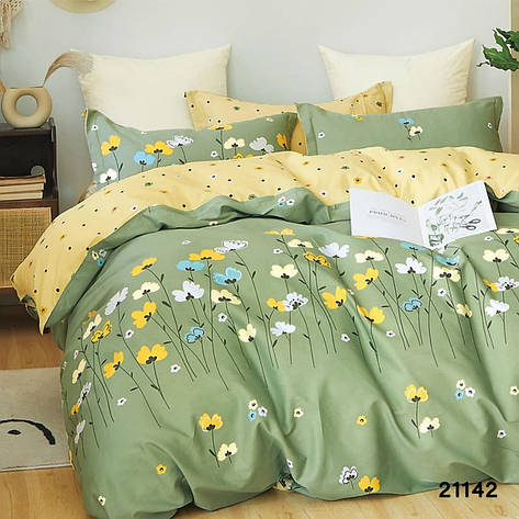 Комплект постельного белья ранфорс 21142 ТМ Вилюта, фото 2