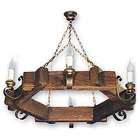Люстра подвесная 6 свечей Е14 серии Venza 250526