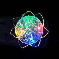 Нічник VARGO LED RGB Троянда 1374421621