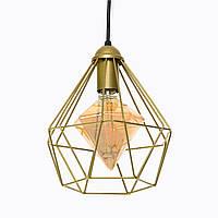 Потолочный подвесной светильник Atma Light серии Crystal P235 Gold