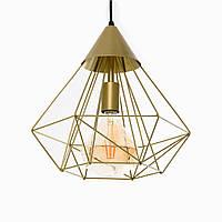 Підвісний світильник стельовий Atma Light серії Prism Gold P315