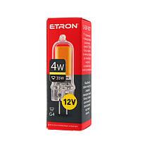 Лампа светодиодная ETRON Light Power 1-ELP-077 G4 Glass 4W 3000K 12V