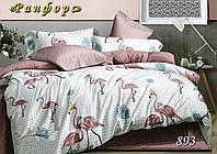 """Комплект постельного белья ТМ """"Тет-А-Тет"""" Ранфорс (ренфорс) """"893"""" евро размер"""