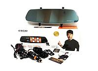 Видео Регистратор Зеркало Eken A99 (2 камеры),Full HD,G-sensor, Зеркало-видеорегистратор