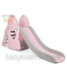 Дитяча гірка Bambi L-HJ01-8 (pink)