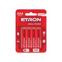 Батарейка ETRON Mega Power ААА-LR03 Blister Alkaline 8 шт