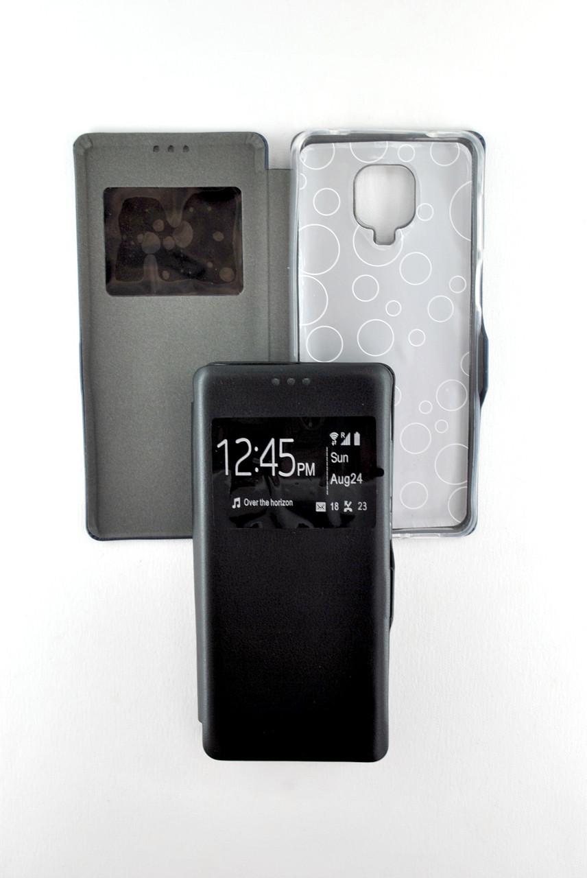 Чехол-книжка для телефона Samsung J3/J320 Afina Black (4you)