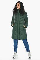 Зручна нефритова куртка жіноча модель 21025, фото 2