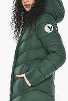 Зручна нефритова куртка жіноча модель 21025, фото 3