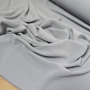 Ткань американский креп светло-серый
