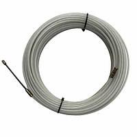 Устройство для протяжки кабеля, УЗК, протяжка стальная в нейлоновой оболочке, протяжка кабельная, 3мм 25 м
