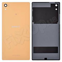 Задня кришка Sony Xperia Z5 (E6603, E6653, E6683), колір золотий
