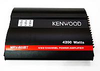 Автомобильный 4-канальный усилитель звука Kenwood MRV805BT, 4200W