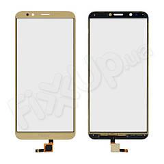Тачскрін для Honor 7C Pro (LND-L29 LND-Al40 LND-TL40), колір золотий