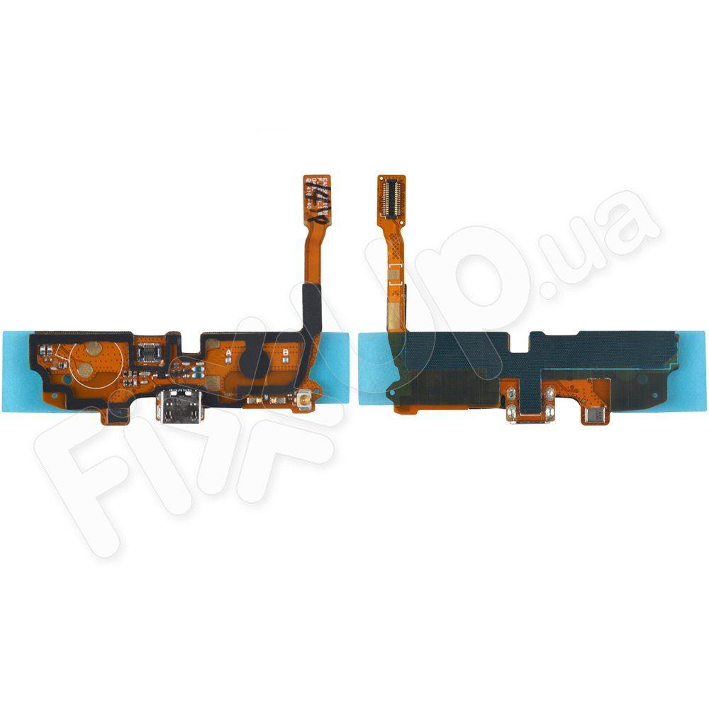 Шлейф для LG Optimus L90 D405, D410, D415 с разъемом зарядки и микрофоном