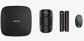 Комплект системы безопасности Ajax (Starter Kit Plus) Hub Plus+ MotionProtect + DoorProtect + SpaceContro