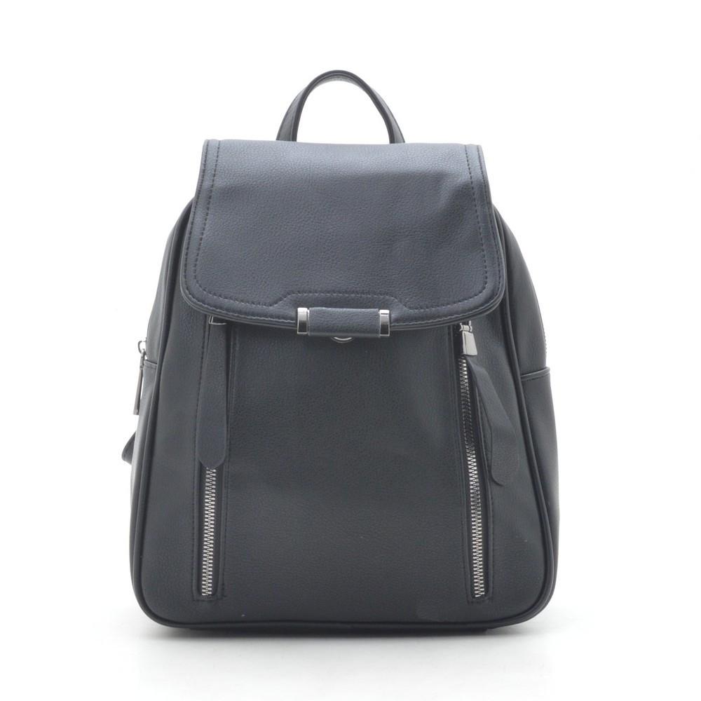 Черный рюкзак женский