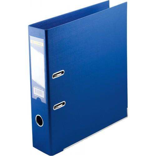 Папка-регистратор ELITE двухстор. А4, 50мм, PP, синий, сборный(BM3002-02c)