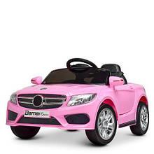 Детский электромобиль  Мерседес M 2772 EBLR -8 розовый