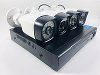 Регистратор и Камеры Dvr Kit Lcd 13 1304 WiFi 4ch набор из 4 камер 180944