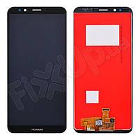 Дисплей для Huawei Honor 7C Pro (LND-L29, LND-Al40, LND-TL40) з тачскріном в зборі, колір чорний