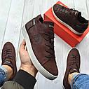 Кеди Diesel (дизель) чоловічі шкіряні кеди (кросівки,туфлі) натуральна шкіра, фото 3