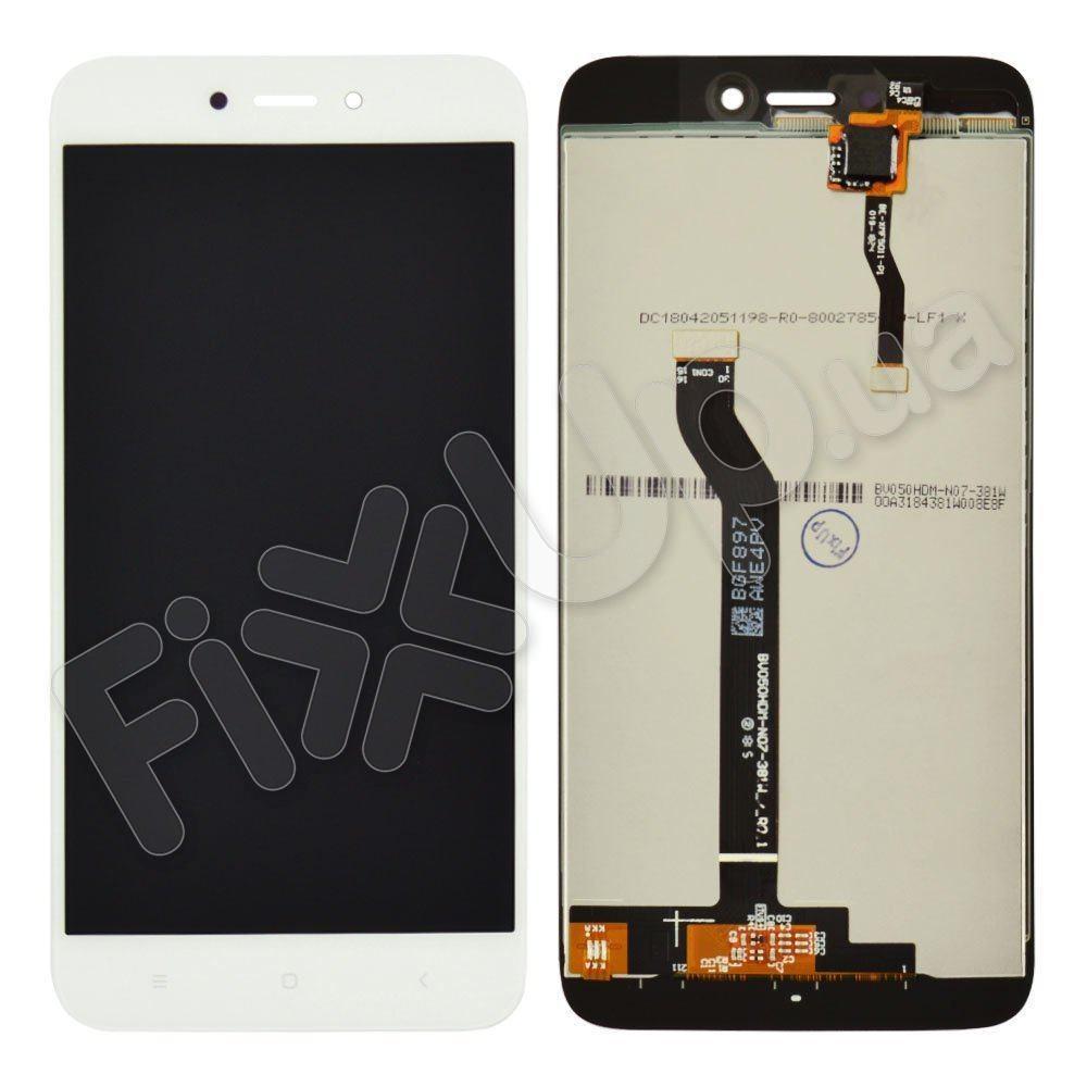 Дисплей для Xiaomi Redmi 5A з тачскріном в зборі, колір білий, оригінал