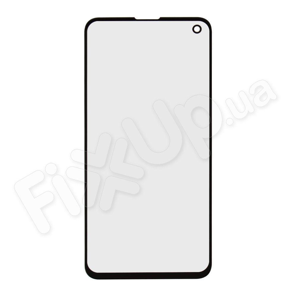 Скло корпусу для Samsung G970 Galaxy S10e, колір чорний