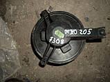 Б/У моторчик печки пежо 205.вентилятор печки пежо 205, фото 3