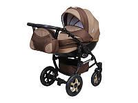 Детская коляска 2 в 1 Angelina Discovery шоколад 001