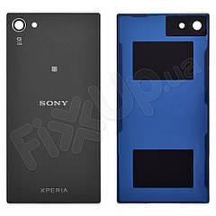 Задня кришка Sony E5823, E5803 Xperia Z5 Compact, колір сірий