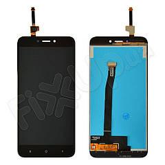 Дисплей Xiaomi Redmi 4X с тачскрином в сборе, цвет черный