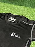 Термо-кофта GUL компрессионная термобелье черная кофта для спорта, фото 4