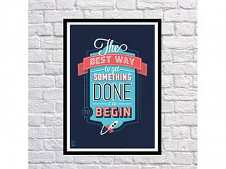 Постер The Best Way