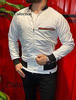 Чоловіча стильна вітровка з фірмовим логотипом