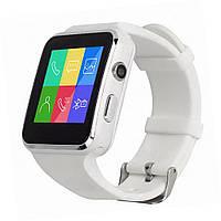 Смарт-часы Smart Watch X6 / Спортивные часы с большим количеством функций (белые)