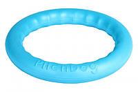 Кільце PitchDog 20 см блакитний 62372 (4823089302409)