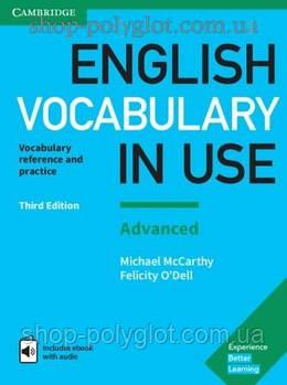 Книга English Vocabulary in Use Third Edition Advanced with eBook