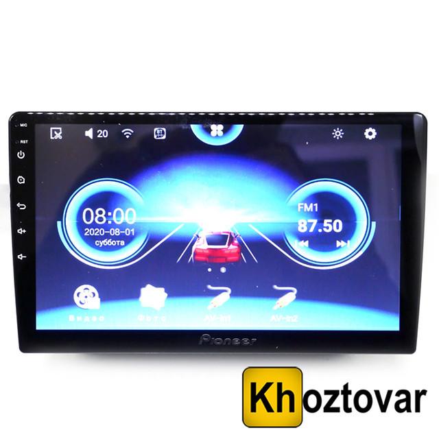 "Автомагнітола 10"" Pioneer 1008   Android 10.0   GPS"