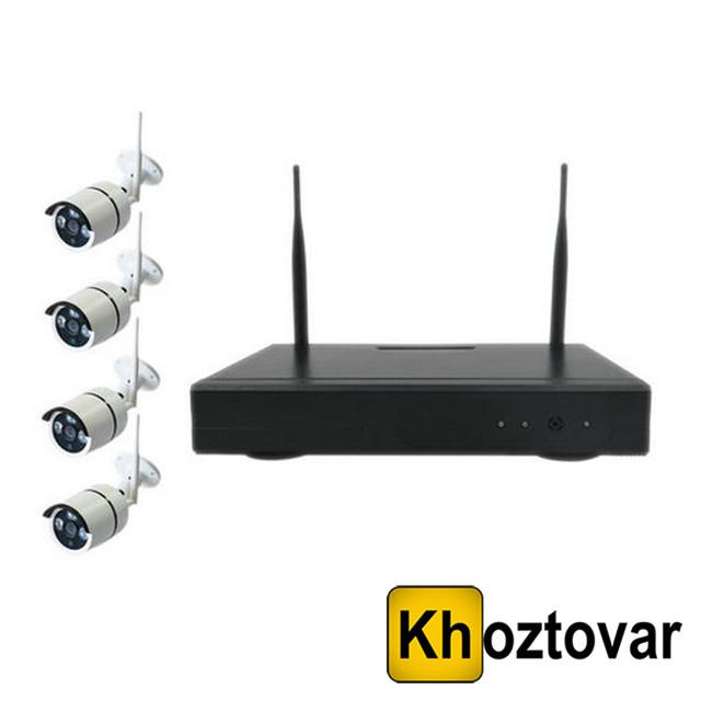 Бездротовий комплект відеонагляду на 4 камери NVR KIT 601
