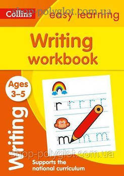 Книга Collins Easy Learning: Writing Workbook Ages 3-5
