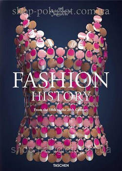 Книга Fashion History from the 18th to the 20th Century