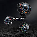 Захисний чохол Nillkin для Apple Watch 40mm Series 4/5/6 / SE (CrashBumper case) Gray, фото 7