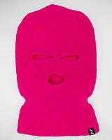 Шапка зимняя Billie Eilish розовая, фото 1