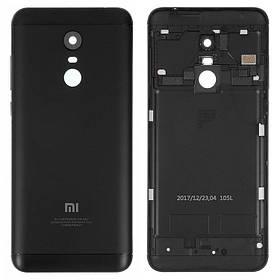 Задняя крышка для Xiaomi Redmi 5 Plus черная